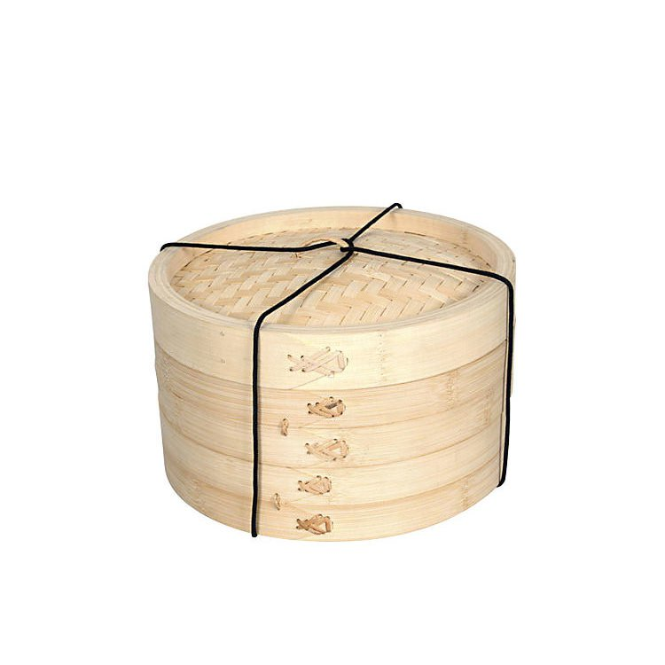 Davis & Waddell Bamboo Steamer 2 Tier 26cm