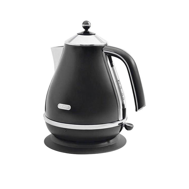 DeLonghi Icona Kettle 1.7L Black