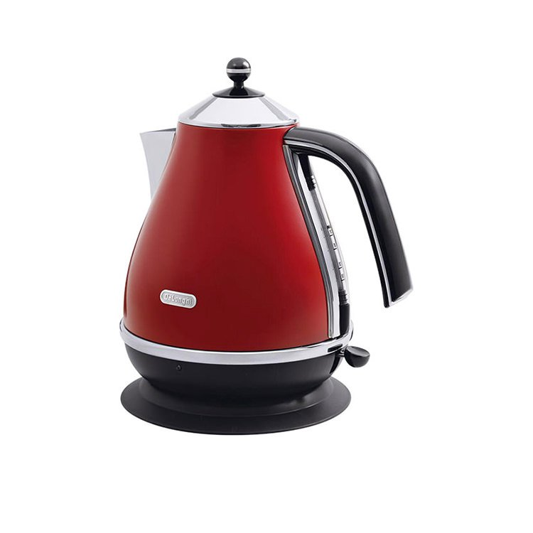 DeLonghi Icona Kettle 1.7L Red