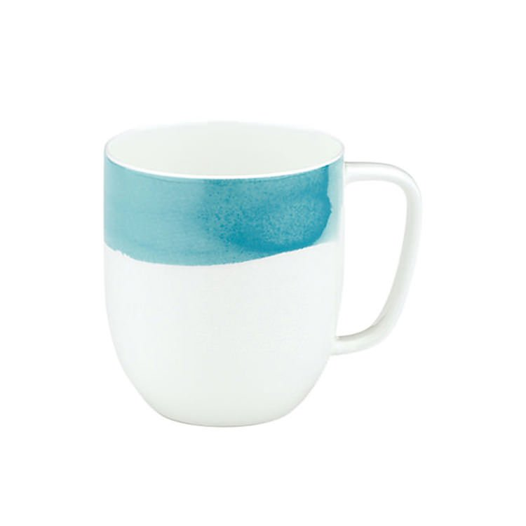 Ecology Watercolour Mug Aqua