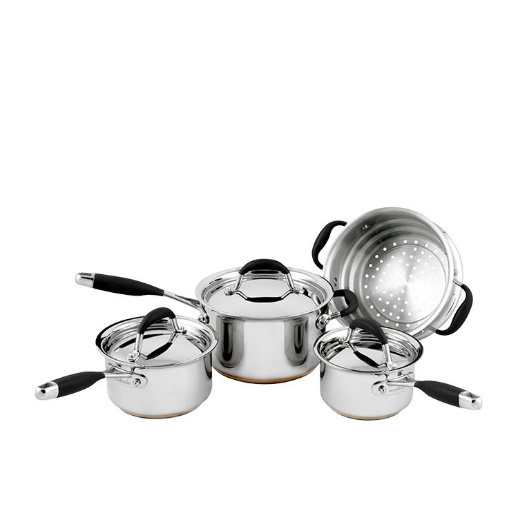 Essteele Australis 4pc Set w/ Saucepans & Steamer