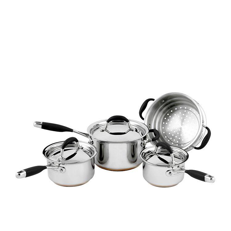 Essteele Australis 4pc Set w/ Saucepans & Steamer