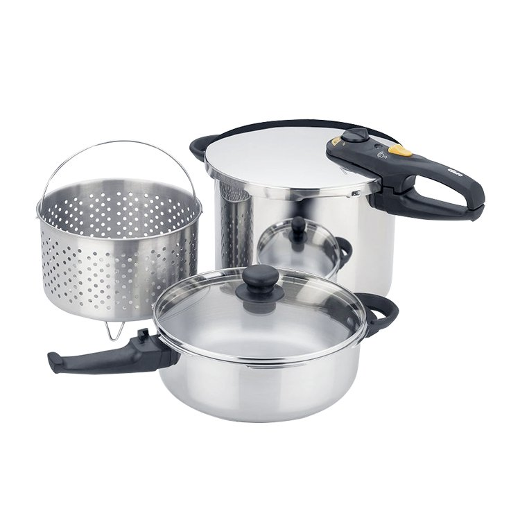 Fagor Duo Combi Pressure Cooker 5pc Set