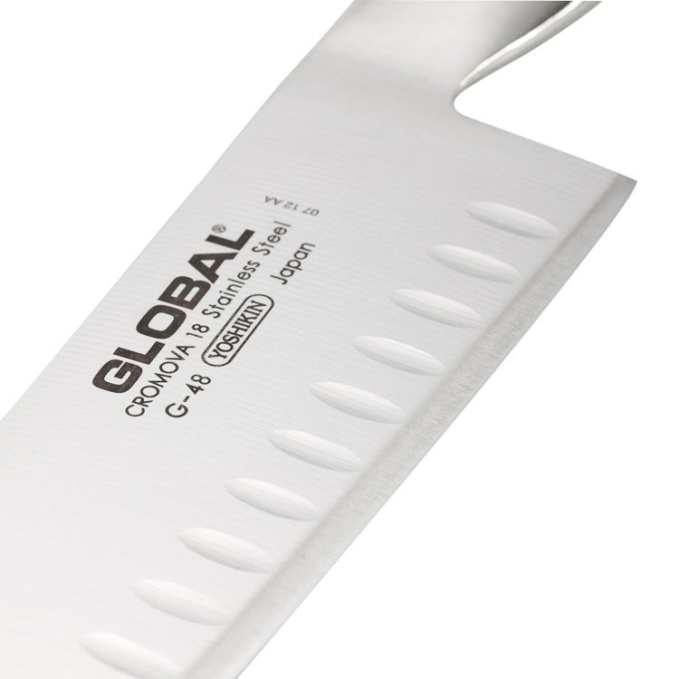 Global Santoku Granton Edge Knife 18cm