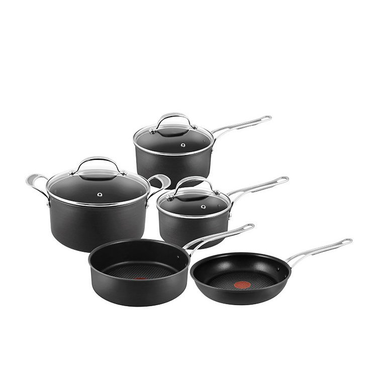 Jamie Oliver Hard Anodised Induction Professional Series 5pc Cookware Set