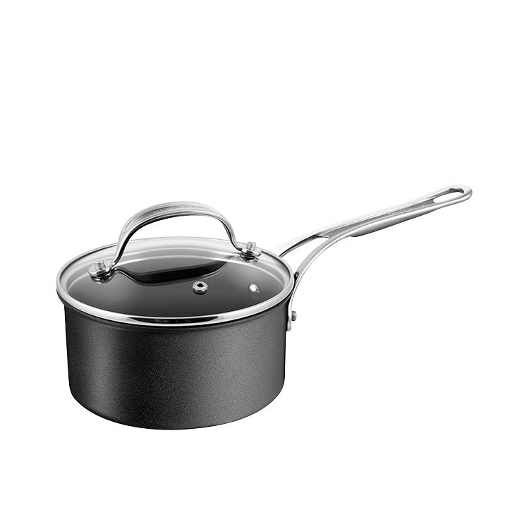 Jamie Oliver Hard Anodised Induction Professional Series Saucepan w/ Lid 18cm