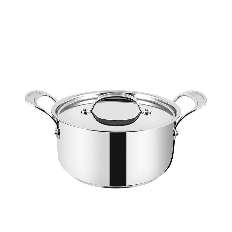 Jamie Oliver Stainless Steel Copper Professional Series Stewpot w/ Lid 24cm