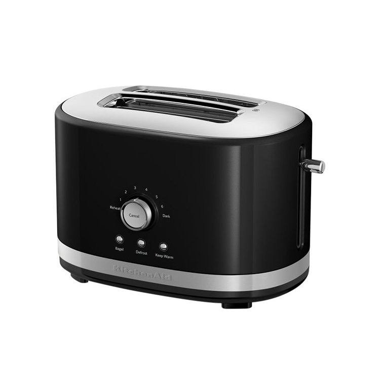 KitchenAid 2 Slice Toaster Onyx Black