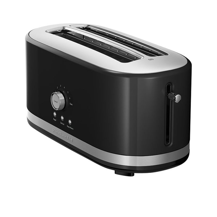 Black Kitchenaid Toaster: KitchenAid 4 Slice Toaster Onyx Black