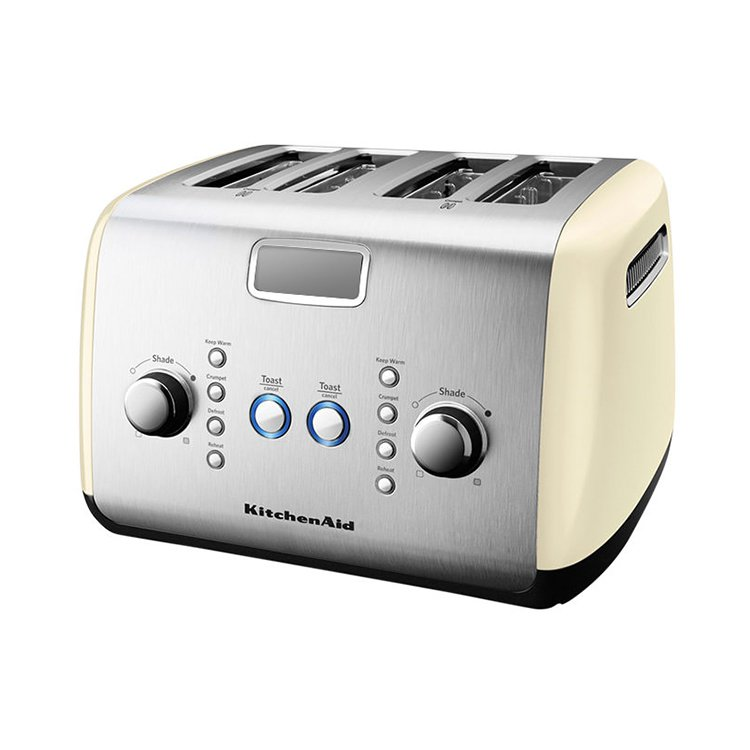 KitchenAid Artisan 4 Slice Toaster Almond Cream