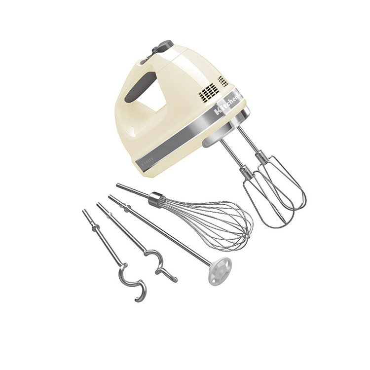 KitchenAid Artisan 9 Speed Hand Mixer Almond Cream