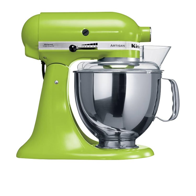 kitchenaid mixer ksm150 apple green on sale now
