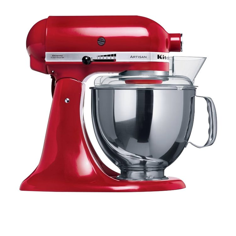 kitchenaid mixer ksm150 empire red on sale only 599. Black Bedroom Furniture Sets. Home Design Ideas