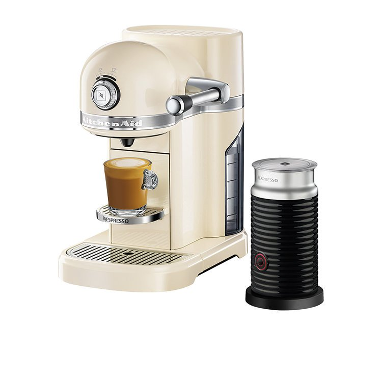 Kitchenaid Kes0504 Nespresso Machine Almond Cream Fast
