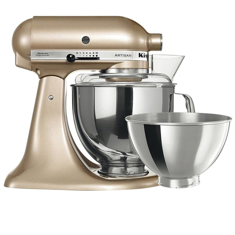 KitchenAid KSM160 Stand Mixer Champagne Gold Limited Edition