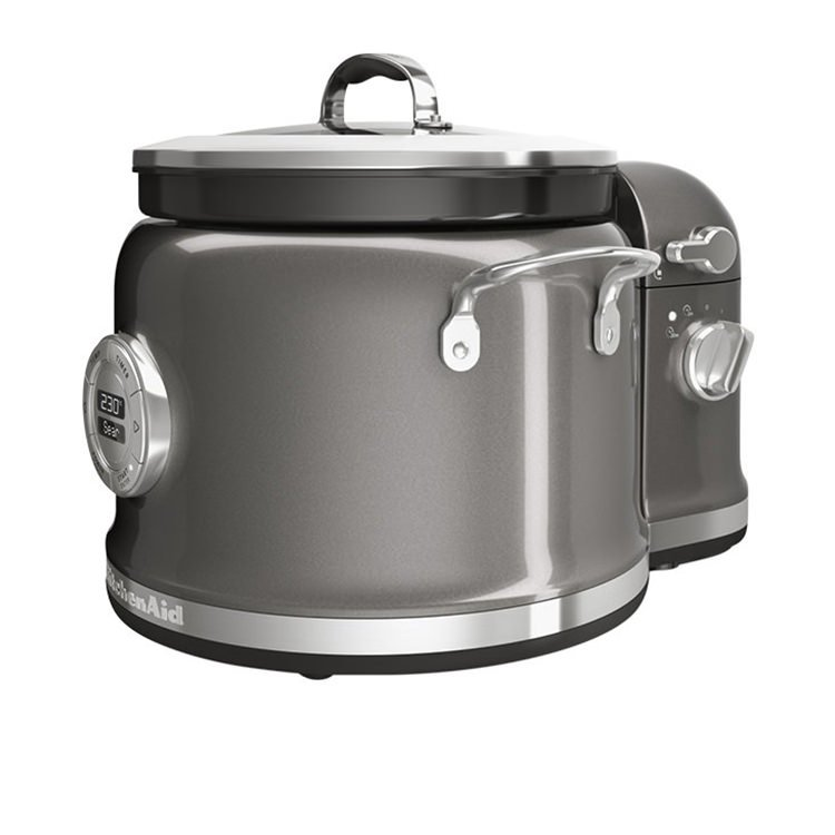 KitchenAid Multi Cooker with Stir Tower Medallion Silver