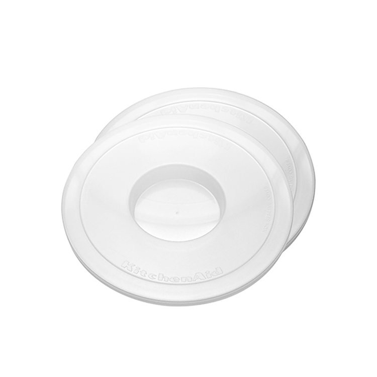 KitchenAid Plastic Bowl Cover 4.8L for Bowl-Lift Stand Mixer Pack of 2