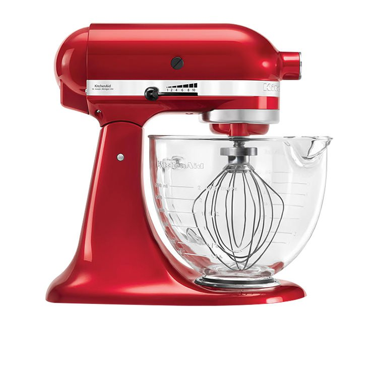 KitchenAid Platinum Collection KSM156 Stand Mixer Candy Red