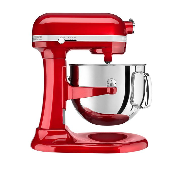 KitchenAid Pro Line KSM7581 Bowl-Lift Stand Mixer Candy Apple Red