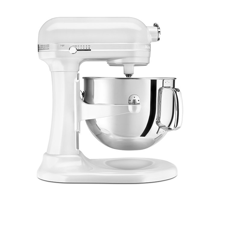 KitchenAid Pro Line KSM7581 Bowl-Lift Stand Mixer Frosted Pearl