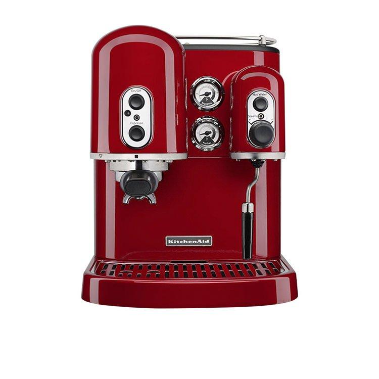 Kitchenaid Pro Line Espresso Machine Candy Apple Red