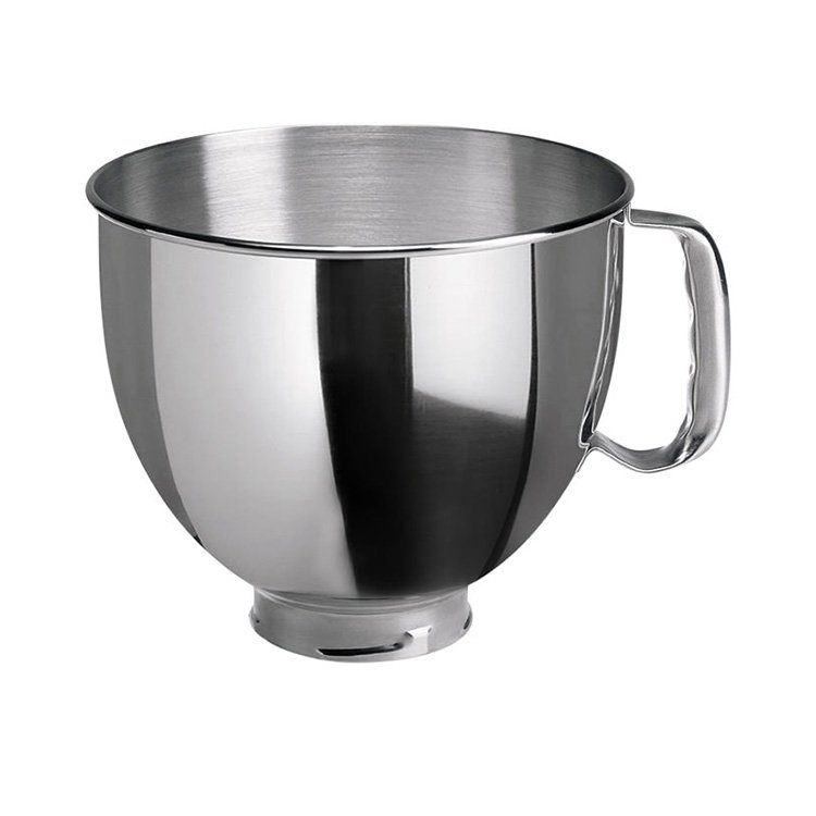 KitchenAid Stainless Steel Mixing Bowl for Tilt-Head Stand Mixer 4.8L