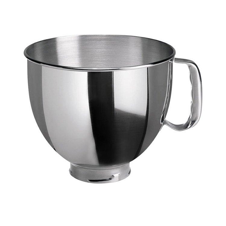 KitchenAid Stainless Steel Mixing Bowl 4.8L - On Sale Now! on jonathan adler bowls, lock & lock bowls, french bull bowls, hutzler bowls, general electric bowls, american metalcraft bowls, cardinal glass bowls, oggi bowls, good cook bowls, ore originals bowls, homer laughlin china bowls, hall china bowls, monogram bowls, now designs bowls, corning ware bowls, amy's bowls, signature housewares bowls, anchor hocking bowls, lenox bowls, fortessa bowls,