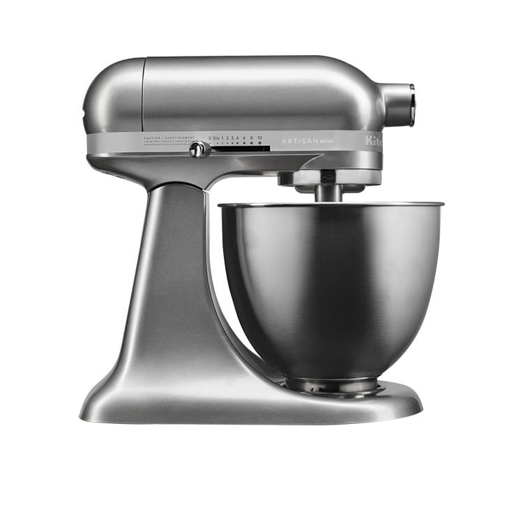 Kitchenaid Artisan Mini Stand Mixer Contour Silver