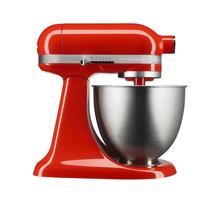 Kitchenaid Artisan Mini Stand Mixer Hot Sauce