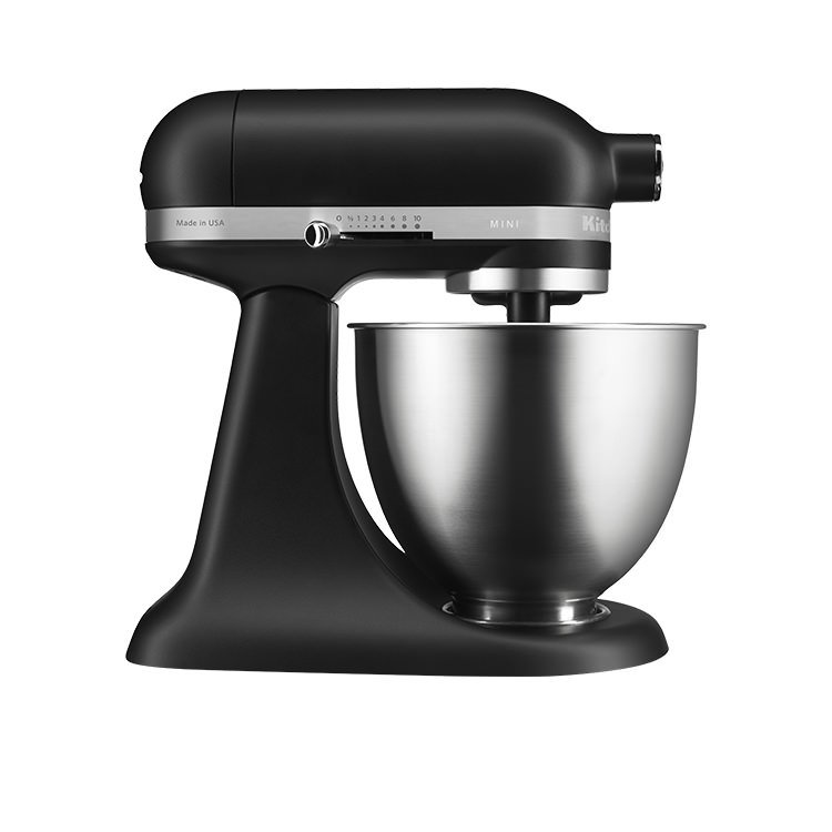 Kitchenaid Artisan Mini Stand Mixer Matte Black