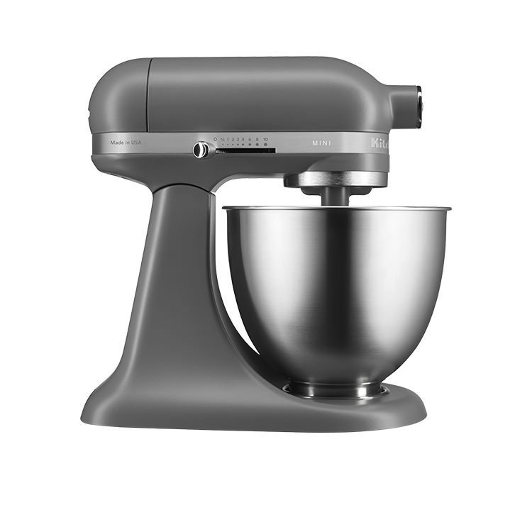 Kitchenaid Artisan Mini Stand Mixer Matte Grey