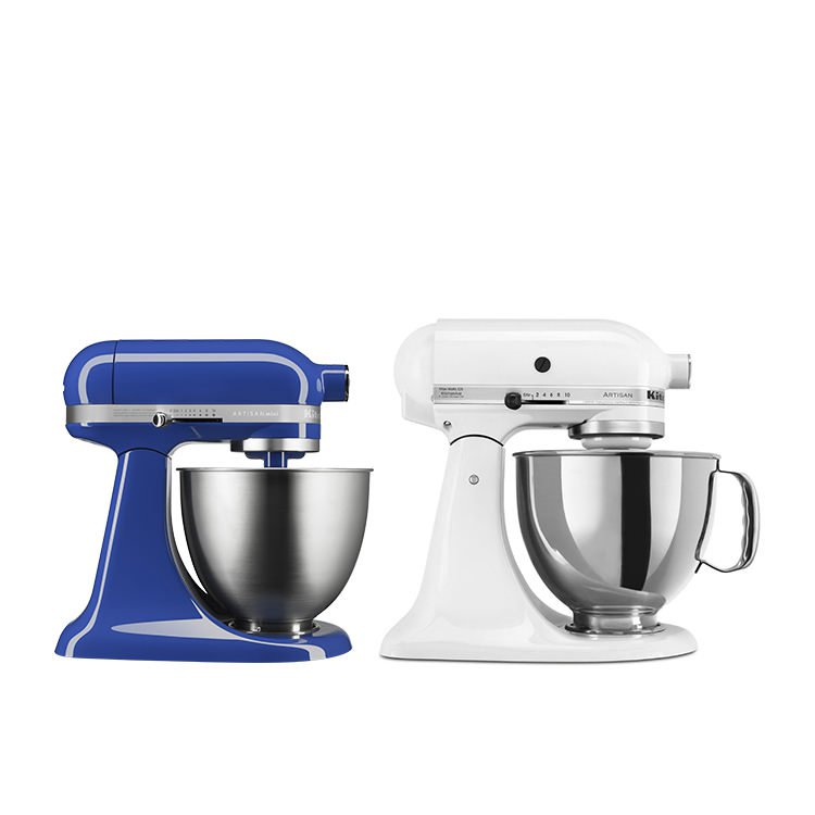 Kitchenaid Artisan Mini Stand Mixer Twilight Blue Fast