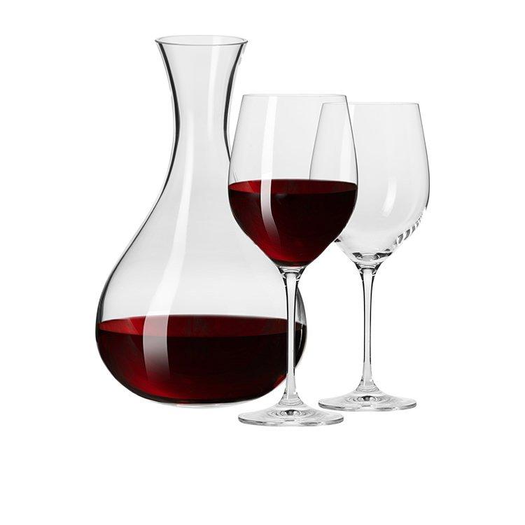 Krosno Vinoteca Wine Decanter & 2 Wine Glass Set