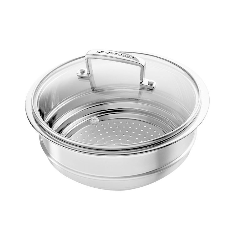 Le Creuset 3-Ply Multi Steamer with Glass Lid