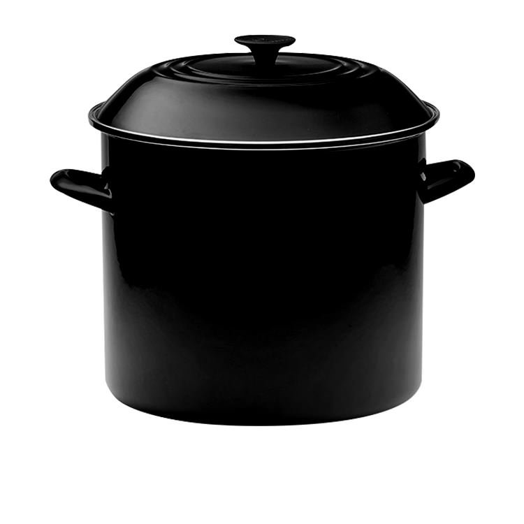 Le Creuset Enamel Stockpot 15.1L Satin Black