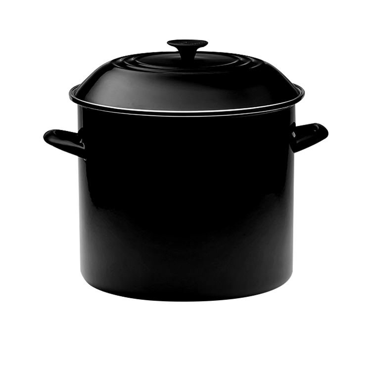 Le Creuset Enamel Stockpot 22cm - 7.6L Satin Black image #2