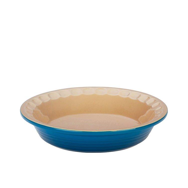 Le Creuset Stoneware Heritage Pie Dish 22cm Marseille Blue