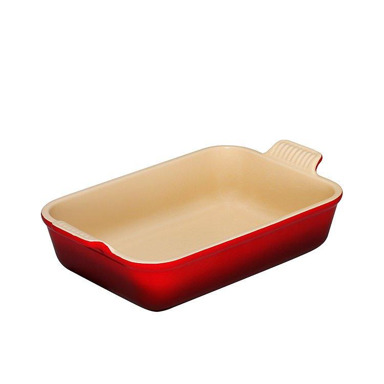 Le Creuset Heritage Rectangular Dish 19cm Cerise