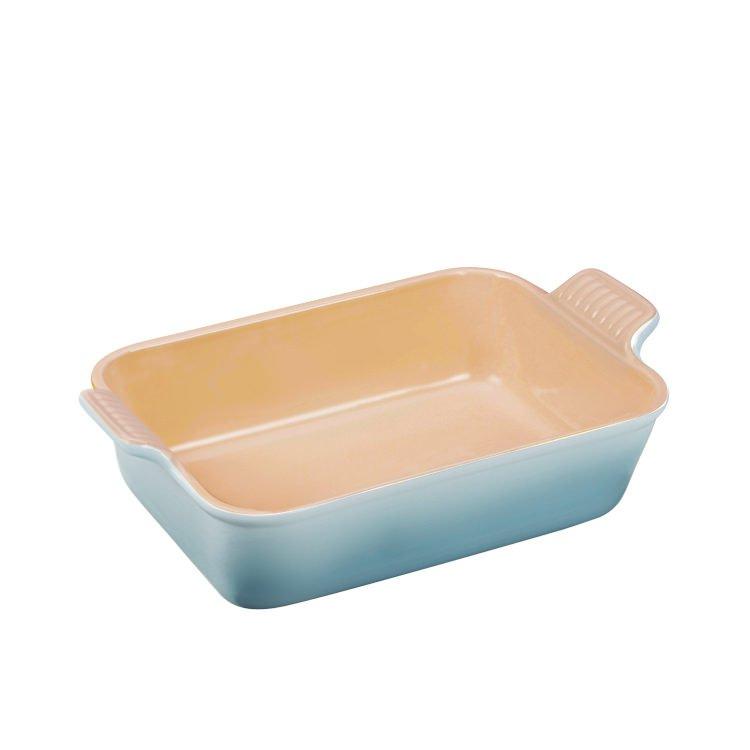 Le Creuset Heritage Rectangular Dish 19cm Coastal Blue