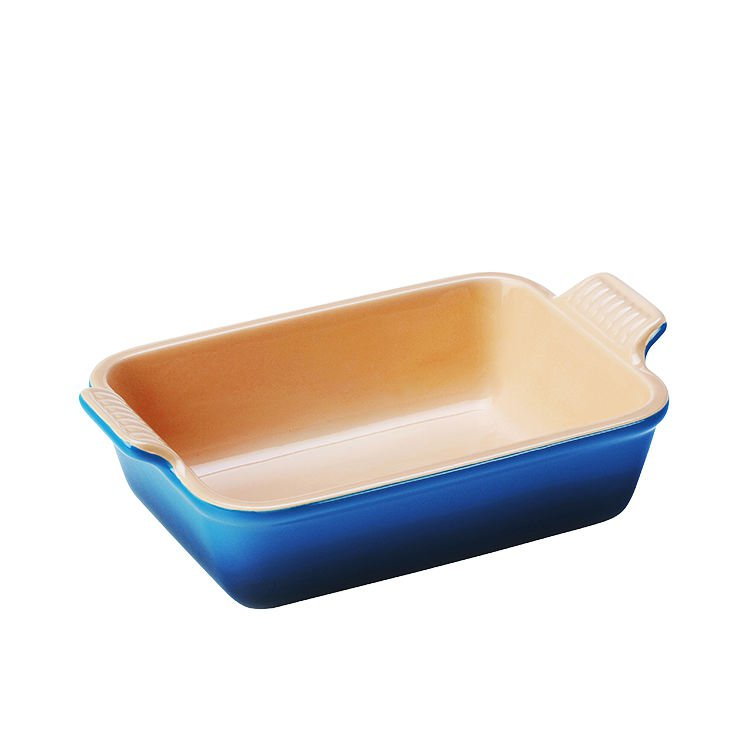 Le Creuset Heritage  Rectangular Dish 19cm  Marseille Blue