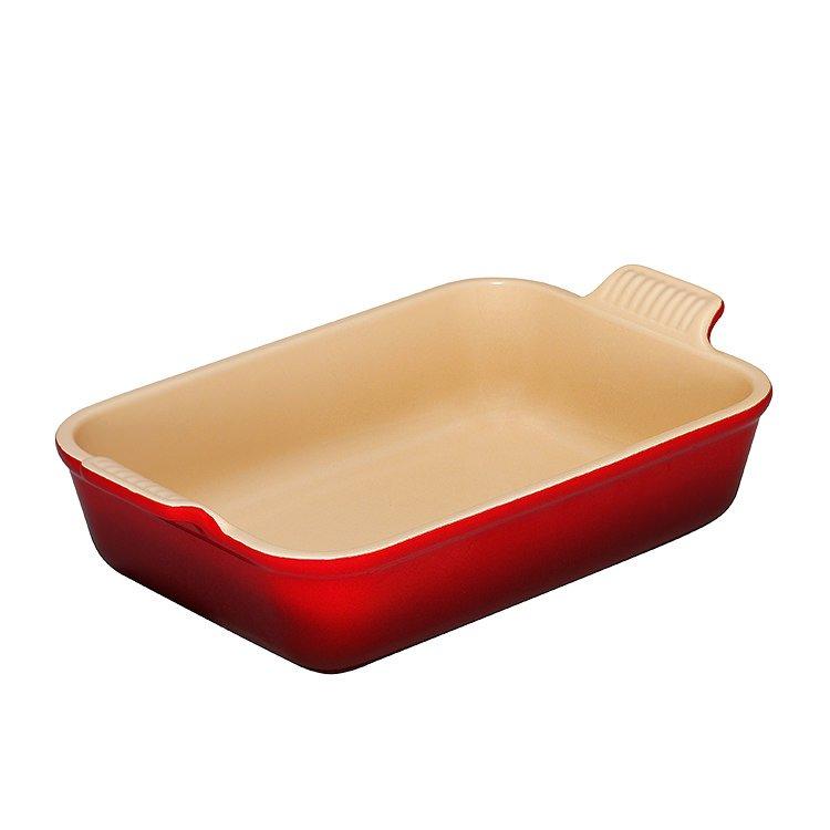 Le Creuset Heritage Rectangular Dish 26cm Cerise