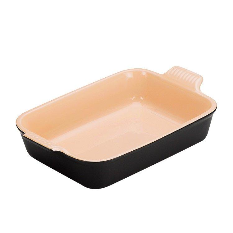 Le Creuset Heritage  Rectangular Dish 26cm Satin Black