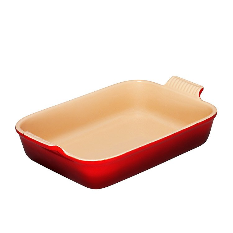 Le Creuset Heritage  Rectangular Dish 32cm Cerise
