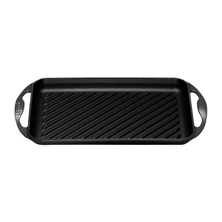 Le Creuset Rectangular Grill 32.5cm Satin Black