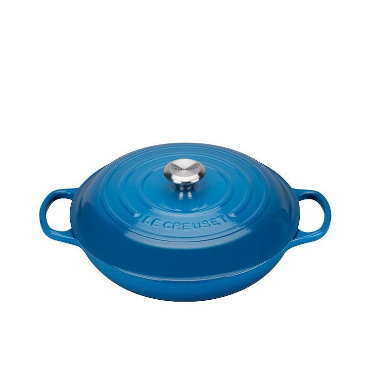 Le Creuset Signature Buffet Casserole 30cm - 3.2L  Marseille Blue