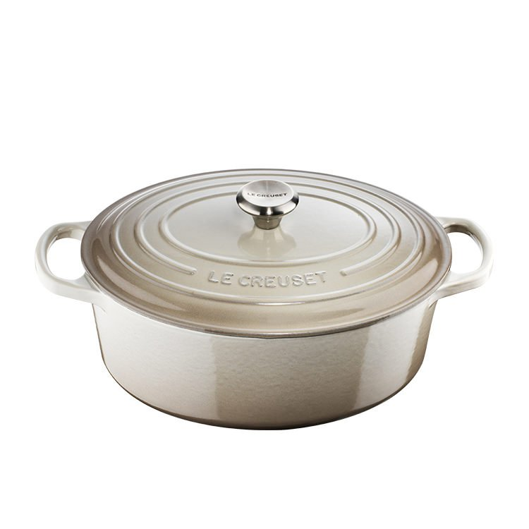 Le Creuset Signature Oval French Oven 27cm - 4.1L Nutmeg