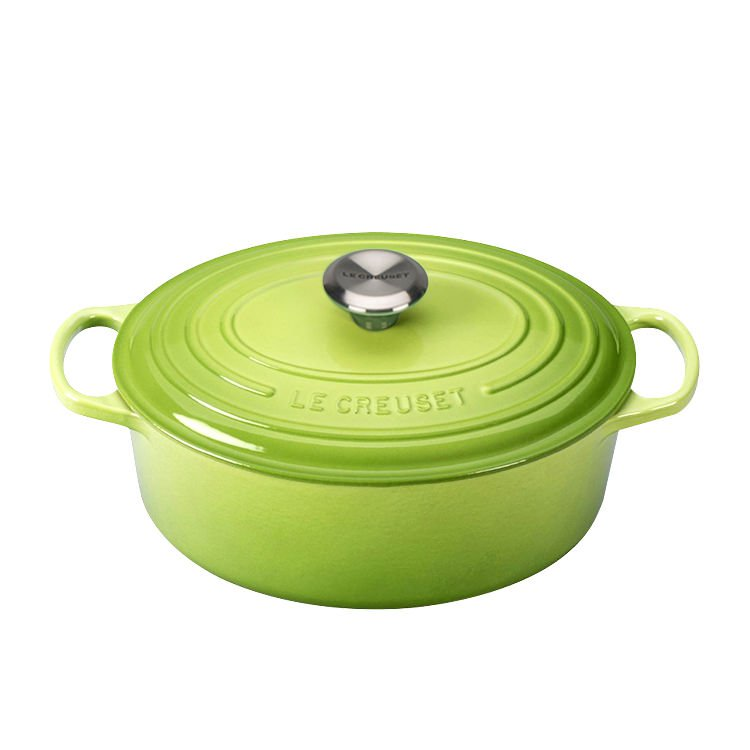 Le Creuset Signature Oval French Oven 27cm - 4.1L Palm