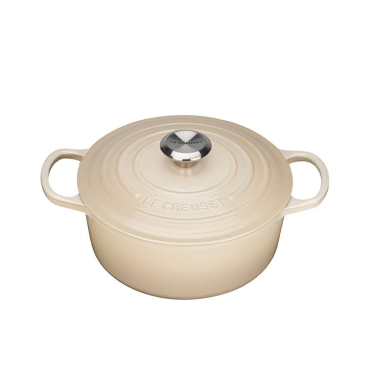 Le Creuset Signature Round French Oven 24cm - 4.2L Dune
