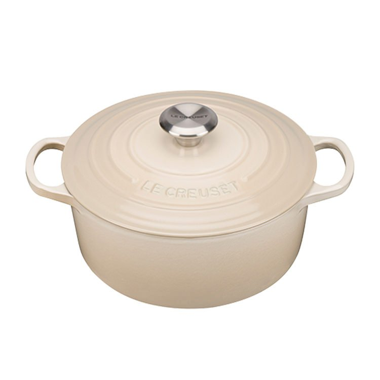 Le Creuset Signature Round French Oven 26cm - 5.3L Dune