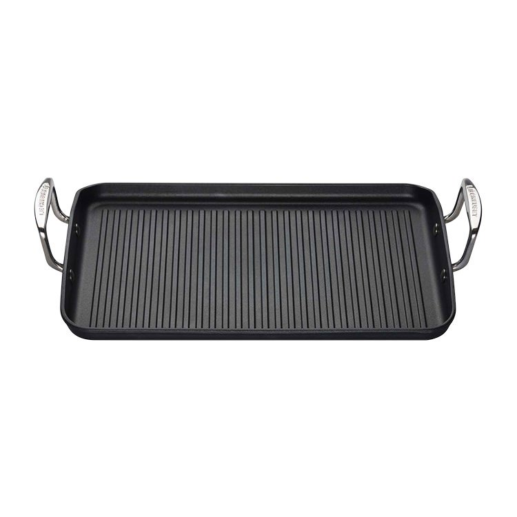 Le Creuset Toughened Non-Stick Giant Rectangular Grill 34cm